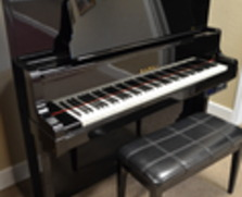 Kawai K80E with PianoDisc player system